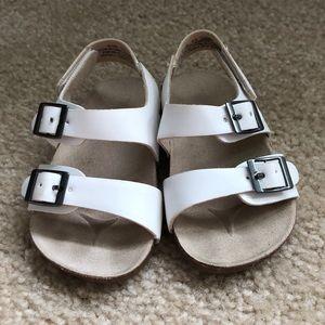 Toddler Girl White Sandals